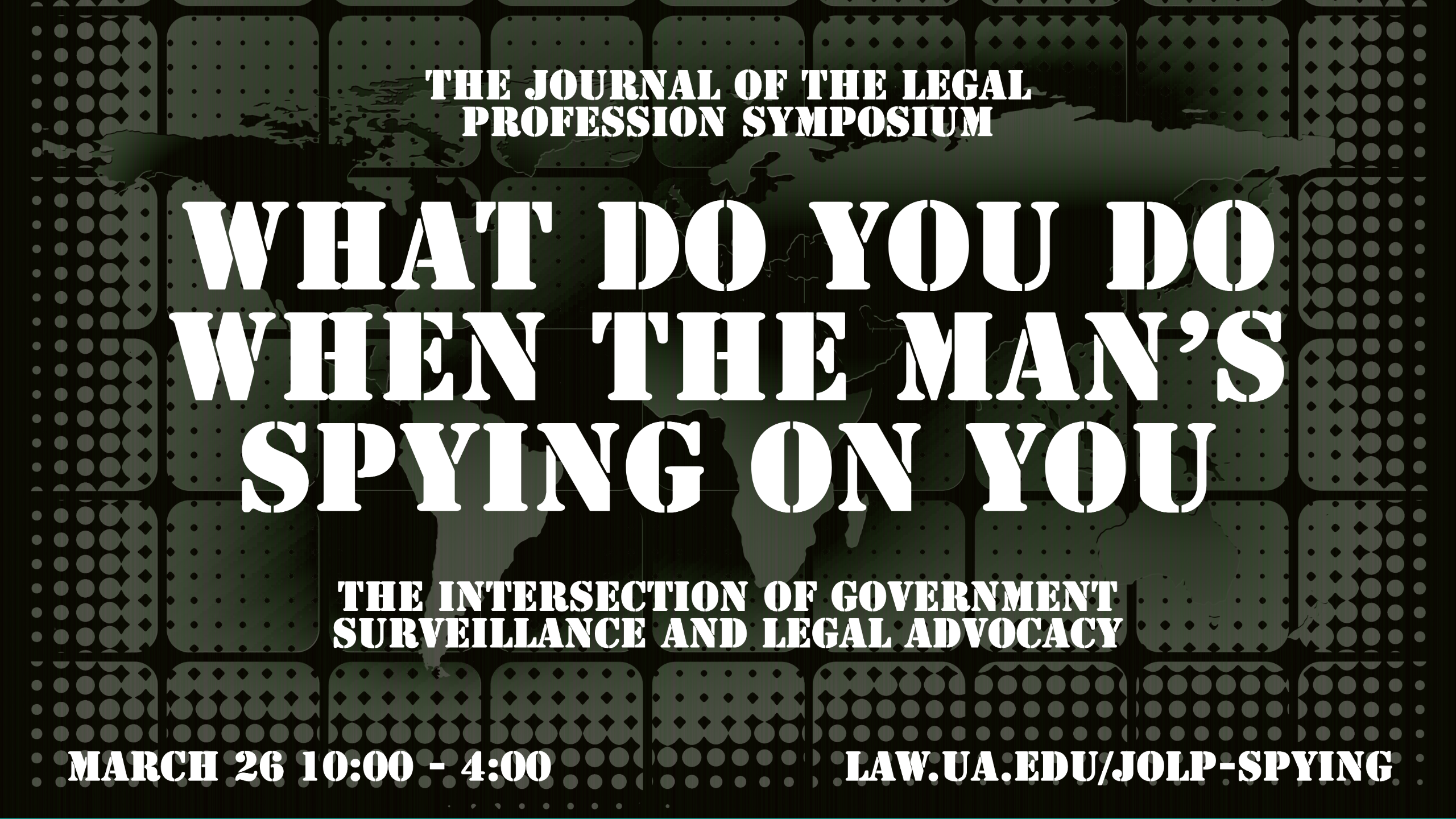 The Journal of the Legal Profession Virtual Symposium 2021   Calendar