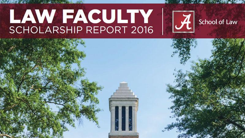 Law Faculty Scholarship 2016