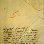 Image of flag evidence envelope