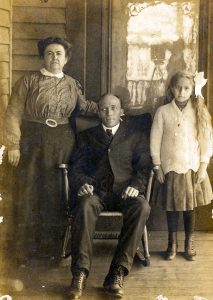 Photograph of Jessie, Mallie, and Oma Parish