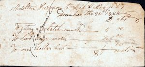 Image of promissory note, December 31, 1824.