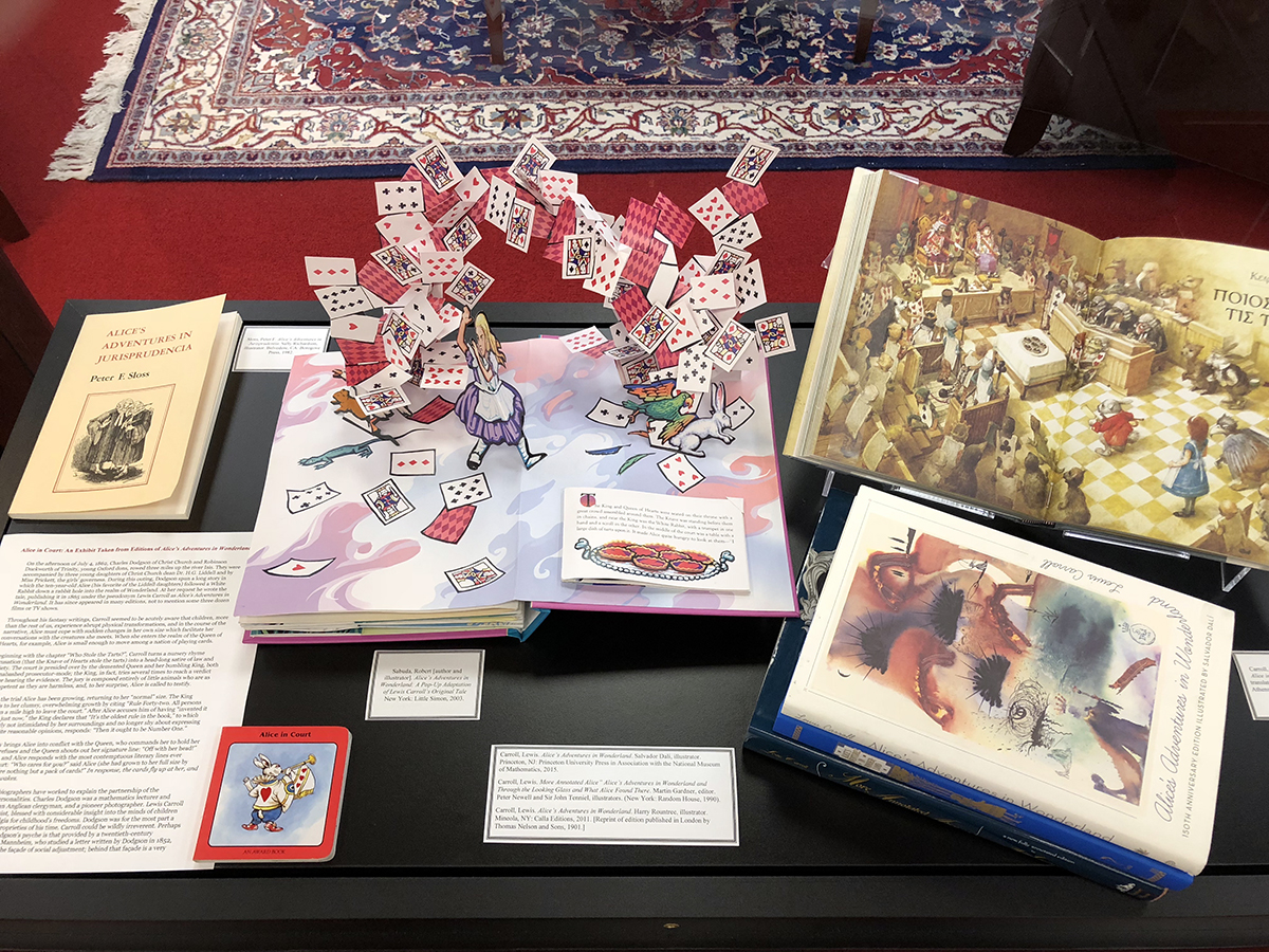 Alice in Court: An Exhibit Taken from Editions of Alice's Adventures in Wonderland