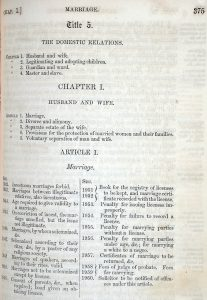 Image of 1852 Code of Alabama detail.