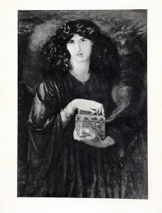 Image of Pandora's Box from Plutarch's Essays and Miscellanies.