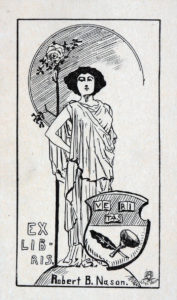 Image of bookplate from The Common Law