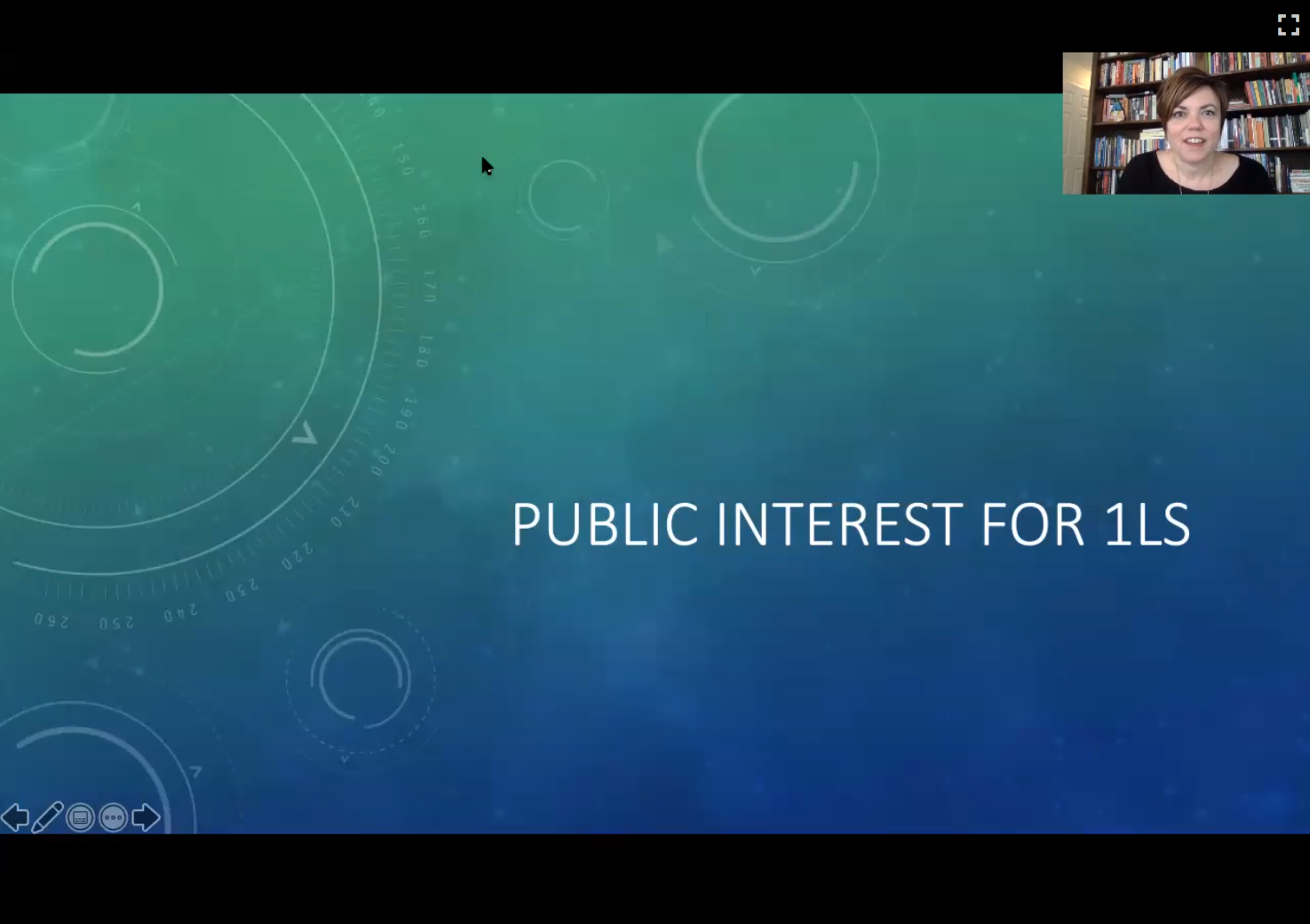 Public Interest for 1Ls video