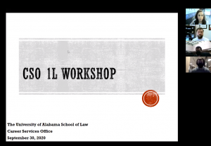 CSO 1L workshop