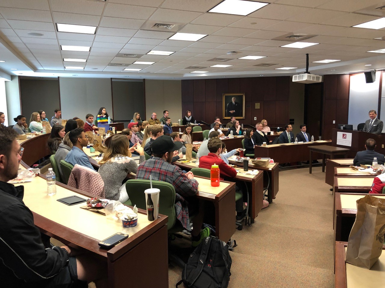 Judge Pryor addresses Law School Students