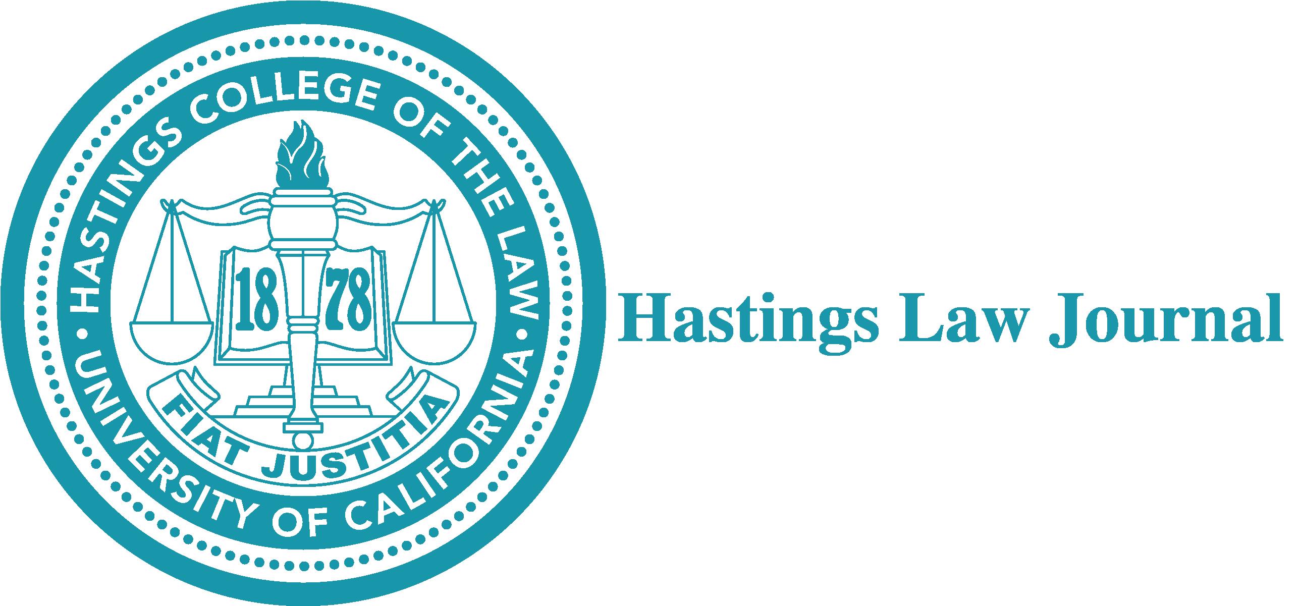 hastings law journal logo
